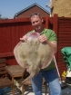 16lbs 5oz undulate ray from Sandown Bay