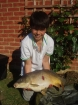 14lbs 6oz Mirror Carp from Rookley Country Park