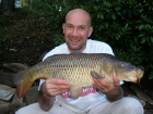 12lbs 0oz Common Carp from Sweet Chestnut Lake using SuperU Bien Vu.. Waggler fished sweetcorn, in 4ft deep swim, a couple of rod lengths out.