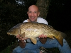12lbs 0oz Common Carp from Sweet Chestnut Lake using SuperU Bien Vu.. Waggler fished sweetcorn