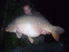 34lbs 0oz Mirror Carp from Rookley Country Park