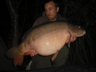 29lbs 0oz Mirror Carp from Rookley Country Park