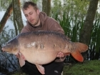 Dean Brookes 38lbs 2oz Mirror Carp from Rookley Country Park