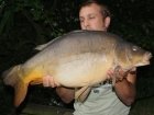 23lbs 2oz Leather Carp from Rookley Country Park
