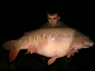 Dan Russell 39lbs 2oz Mirror Carp from Rookley Country Park