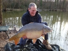 John Clift 41lbs 7oz Mirror Carp from La Petite Martiniere. website www.carpfishingmayenne.com