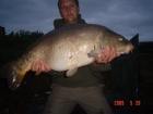 James Cracknell 22lbs 10oz carp from Local Club Water using 16mm baitworks atlantic heat pop up.