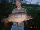 James Cracknell 21lbs 0oz carp from Local Club Water using 20mm premier bait.