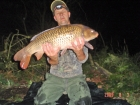 James Cracknell 14lbs 0oz common carp from Local Club Water using premier baits.