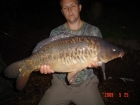 James Cracknell 16lbs 0oz Mirror Carp from Local Club Water using premier baits.
