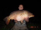 James Cracknell 29lbs 5oz Mirror Carp from Local Club Water