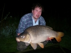 Daniel William Spreckley 35lbs 0oz Common Carp from Les Croix using tiger nut flavoured boilie.. I caught this fish three times within three days on two different baits at two different distances.