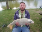 Lee Hughes 11lbs 3oz ghost carp from Nupers Farm