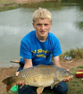 Jacob Bishop 14lbs 10oz Common Carp from Fletchers