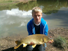 Jacob Bishop 14lbs 3oz Common Carp from Fletchers