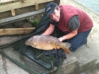 Richard Costello 21lbs 3oz Mirror Carp from Drayton Reservoir. Bit gutted photo not come out so well. My biggest ever fish but in picture does not look the size it was. Very fat and full bellied.