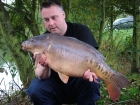 Kieron Axten 22lbs 1oz Mirror Carp from Rookley Country Park using Carp Company Icelandic Red Cranberry & Caviar.