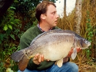 21lbs 6oz Mirror Carp from Cuttle Mill Carp Fishery using Paul Walker Monster Crab.