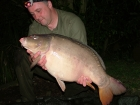 27lbs 4oz Mirror Carp from Rookley Country Park using Carp Company Icelandic Red Cranberry & Caviar.