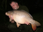 23lbs 12oz Mirror Carp from Rookley Country Park using Carp Company Icelandic Red Cranberry & Caviar.. The Corner Swim