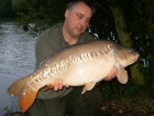 20lbs 4oz Mirror Carp from Rookley Country Park using Carp Company Icelandic Red Cranberry & Caviar.