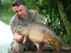 Kieron Axten 18lbs 12oz Mirror Carp from Rookley Country Park using Carp Company Icelandic Red Cranberry & Caviar.