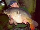 Kieron Axten 25lbs 12oz Mirror Carp from Local Club Water using Solar Club Mix (Squid & Octopus, Stimulin and Anchovy).