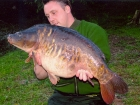 Kieron Axten 26lbs 10oz Mirror Carp from Local Club Water using Solar Club Mix (Squid & Octopus, Stimulin and Anchovy).