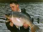 Kieron Axten 21lbs 7oz Mirror Carp from Trentham Gardens using Mainline Grange CSL.