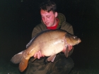 20lbs 2oz Mirror Carp from Woodland Waters using Nutrabaits Big Fish Mix with Black Pepper and Caviar.