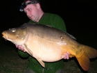 Kieron Axten 38lbs 0oz Mirror Carp from Lac Du Val using Quest Baits Lac Du Val Specials.. Fished most of the week in front of the lodge, but did two nights opposite for 30lb 2oz, 38lb, 34lb 4oz,