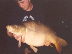 27lbs 8oz Mirror Carp from Les Quis