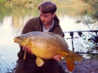 Kieron Axten 21lbs 7oz Mirror Carp from Les Quis using Damo's pop ups.