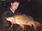 18lbs 1oz Common Carp from Les Quis