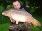 30lbs 2oz Mirror Carp from Lac Du Val using Quest Baits Lac Du Val Specials.. This was a two week trip to the heavenly Angling Lines venue - Lac du Val.