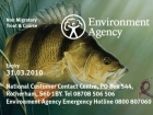The Environment Agency - Angling Authority in Rotherham, England