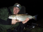 5lbs 8oz Chub from Upper Trent using Nutrabaits Trigga Ice +.. Caught using a Greys X-Flite barbel rod with lighter quiver tip. Okuma Reel, 8lbs Daiwa Infinity Duo Line, small cage feeder and size 12