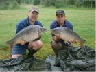18lbs 10oz Mirror Carp from Ribiere using Nutrabaits  - Fruit Special.. Caught at 40 yards close to old stream bed. Using Century NG rod, Daiwa Tournament Reel, 12lbs Line, 3oz lead to 30lbs