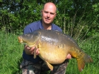 39lbs 7oz Mirror Carp from Morgane Lakes using Nutrabaits Trigga Ice.. The biggest fish from a weeks fishing at Angling Lines Hols venue Morgane. Part of a 94 fish catch in heatwave conditions -