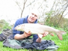 10lbs 2oz Barbel from River Dove using Quest Bait Halibut Pellet.. Caught 2 feet from my feet under Willow. 12lbs Daiwa Infinity Duo line, Fox feeder, 12 inches of Kryston Flourocarbon and size 10